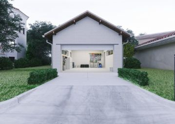 a-beautiful-garage-with-concrete-driveway at hoppers crossing pavers