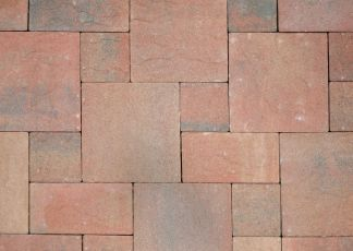 intricately-laid-bricks-in-different-sizes at hoppers crossing pavers